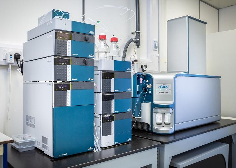 Photograph of a Sciex Mass Spectrometer
